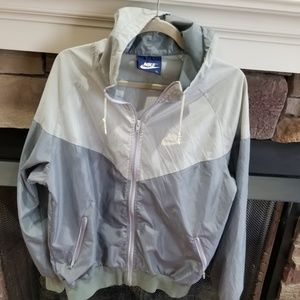 Late 80s Nike blue tag track jacket windbreaker M
